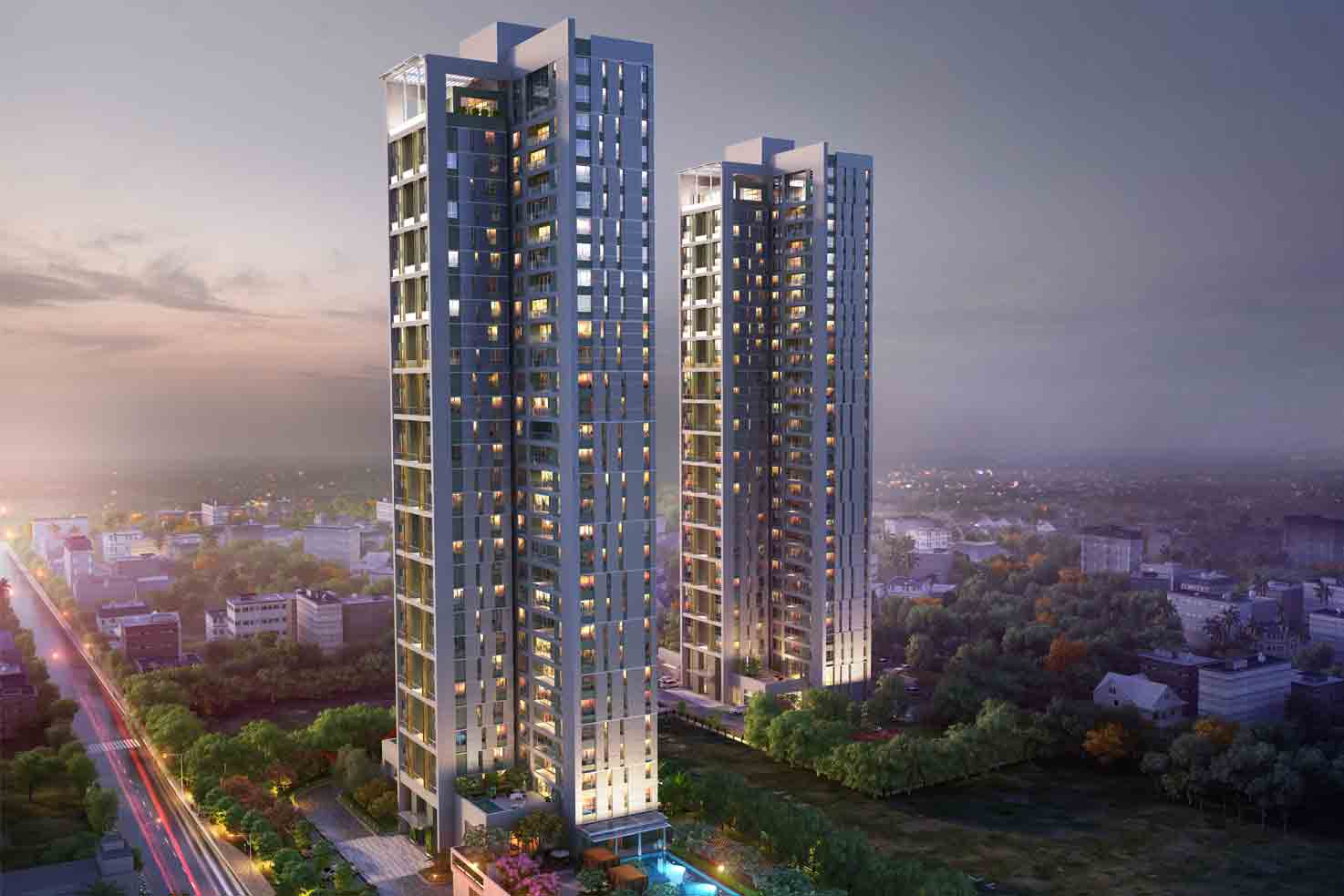 luxury apartments in kolkata