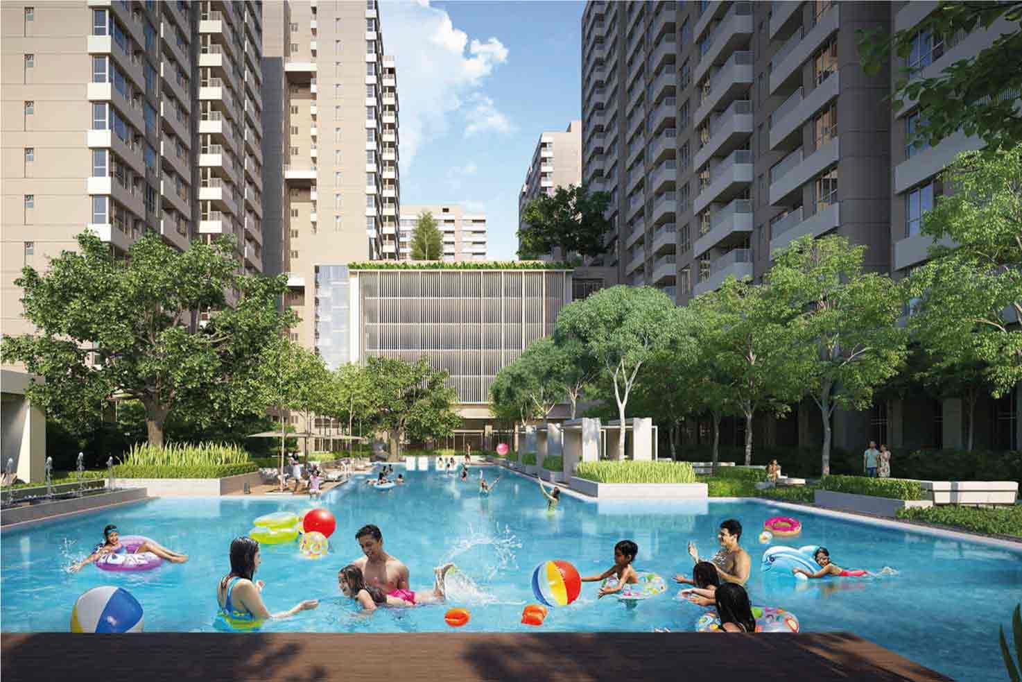 2BHK flats at New Town