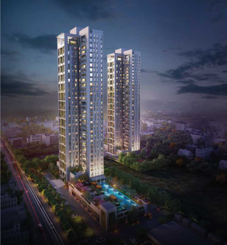 4 BHK flat in kolkata: EM Bypass near Science City