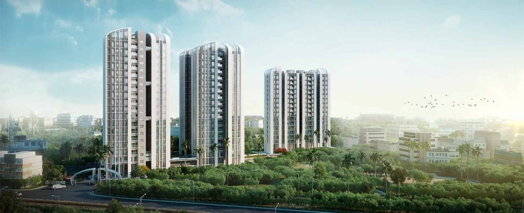 3 BHK flats in Kolkata New Town: architectural excellence