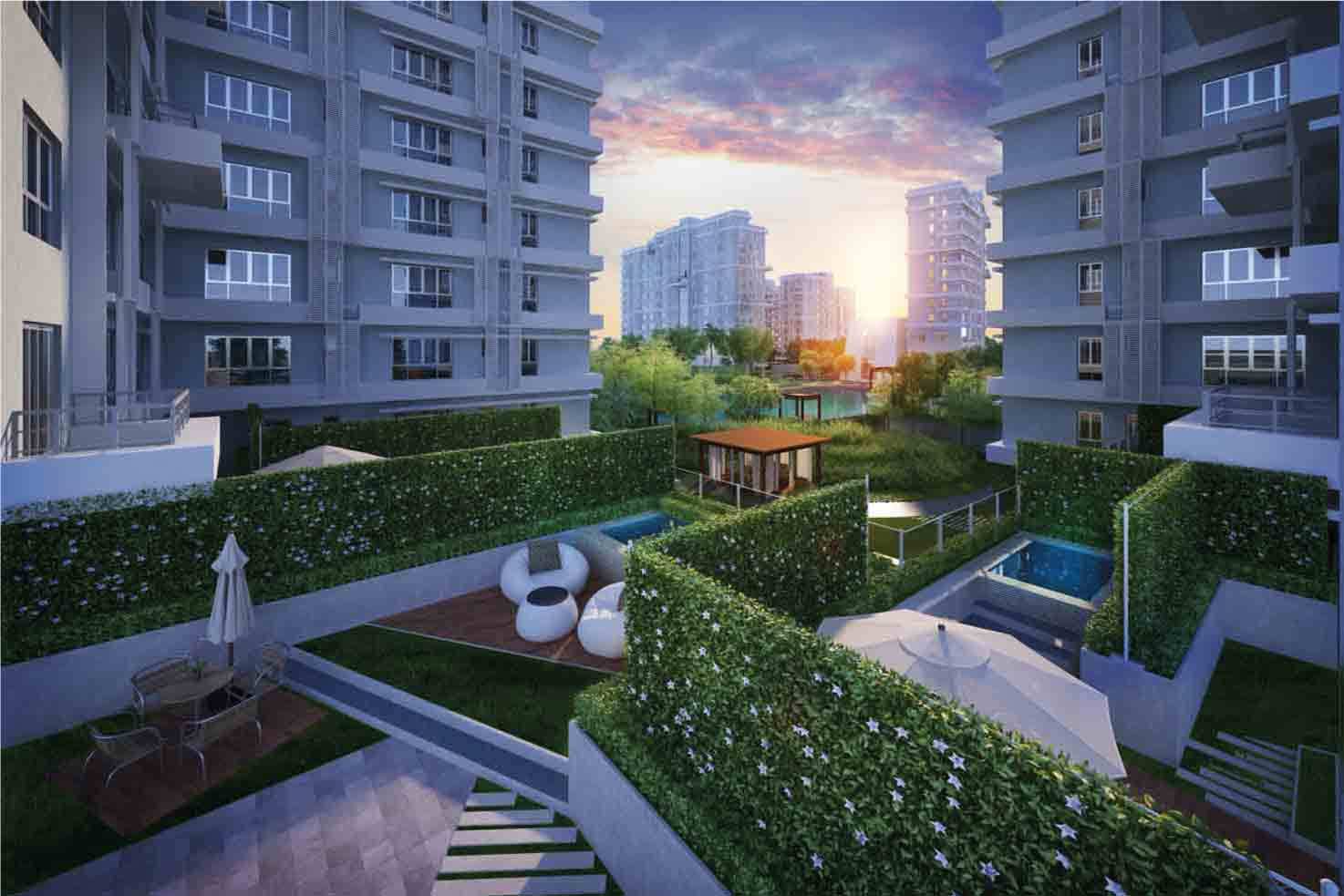 ready to move flats in New Alipore