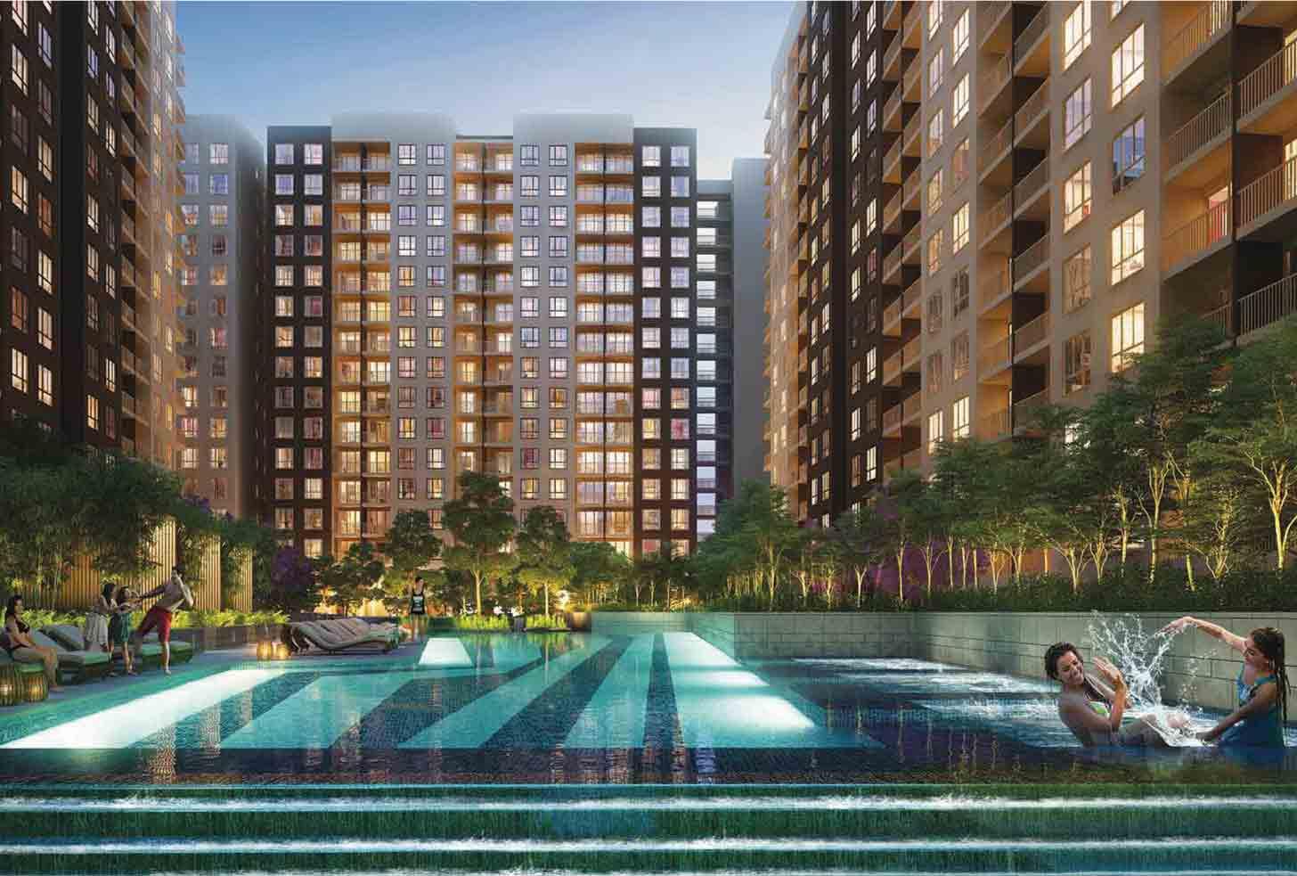 3 bhk flats in Rajarhat - Newtown Kolkata