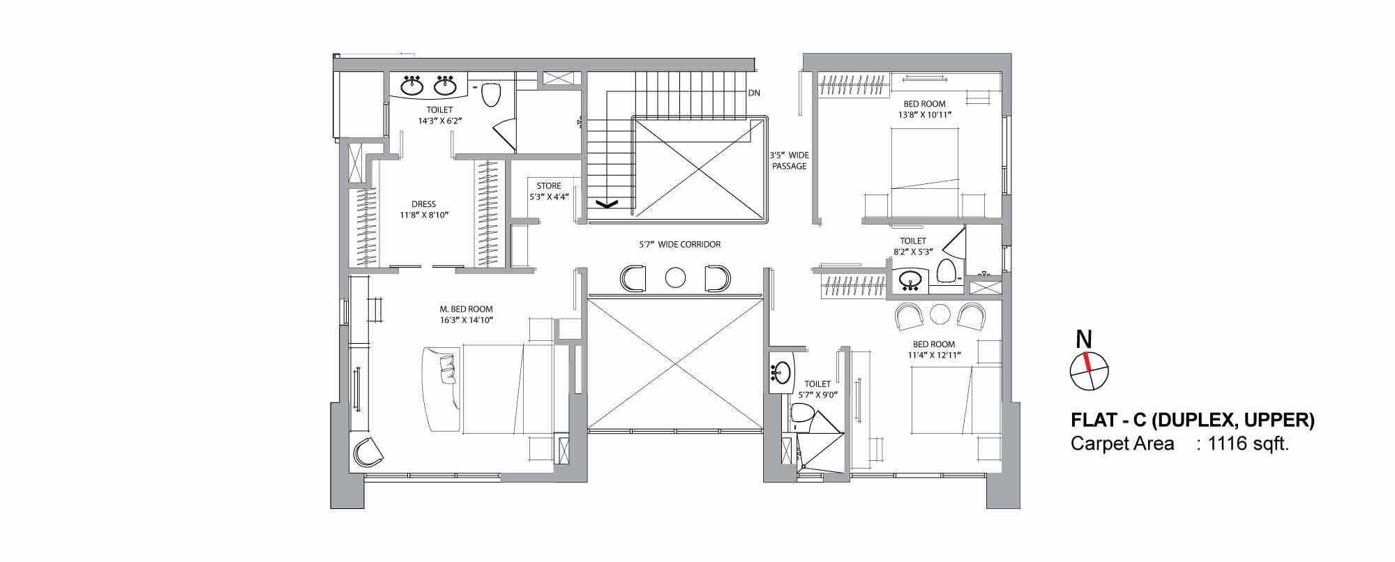 Aurus Duplex Plan