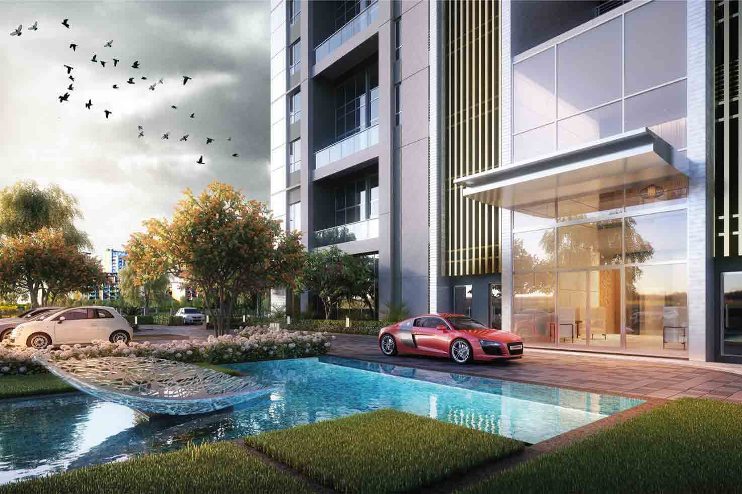 5 BHK Apartments on EM Bypass