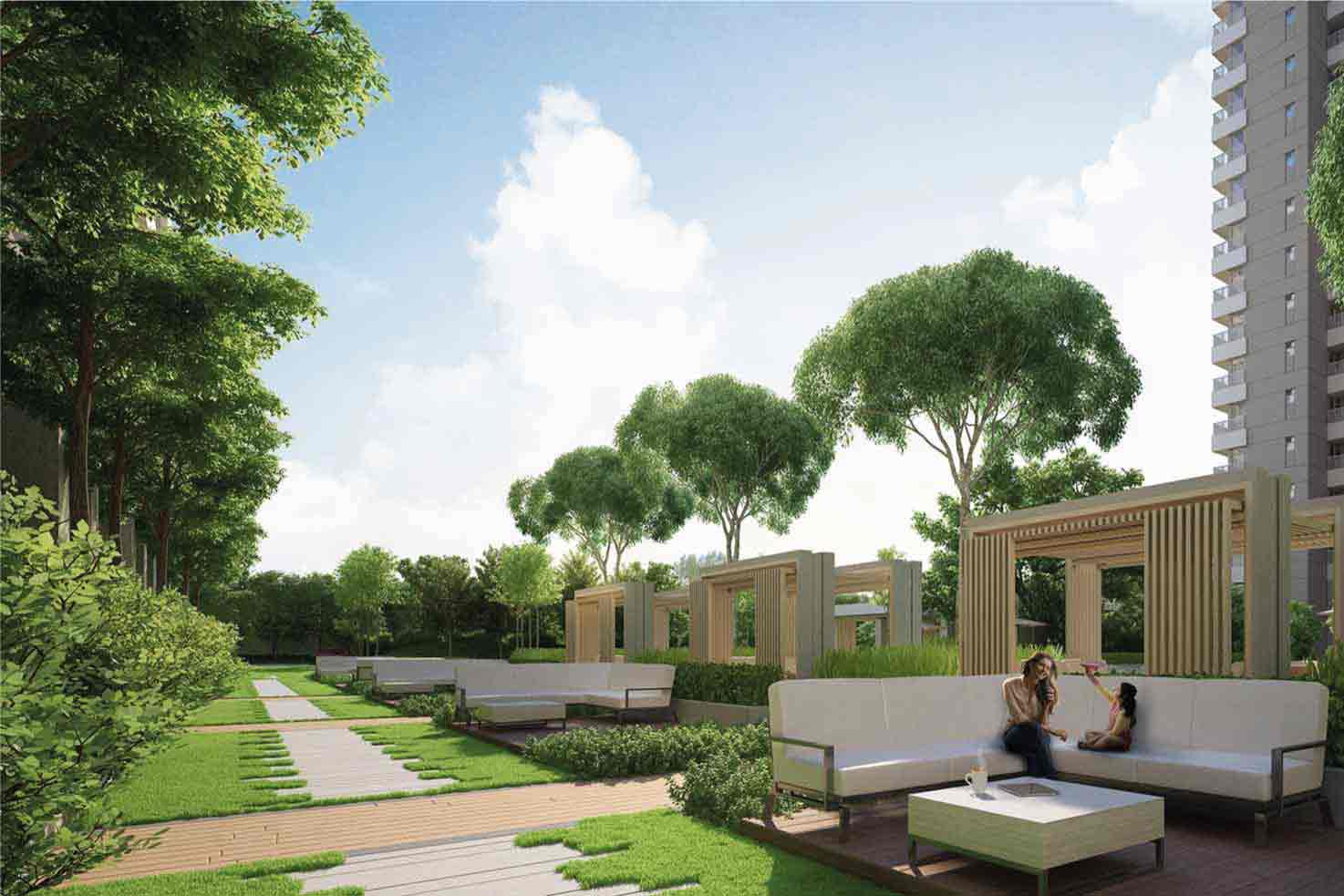 2 BHK Flats in New Town