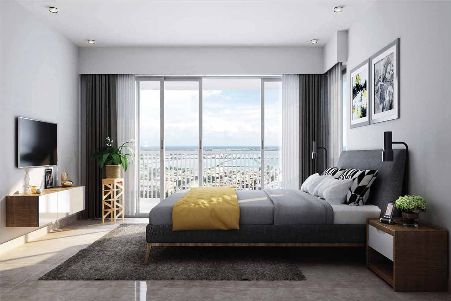 Flats for sale near Sector V