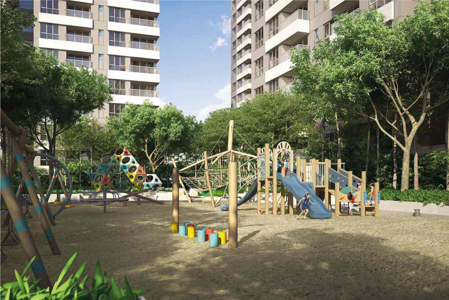 Residential Projects in New Town