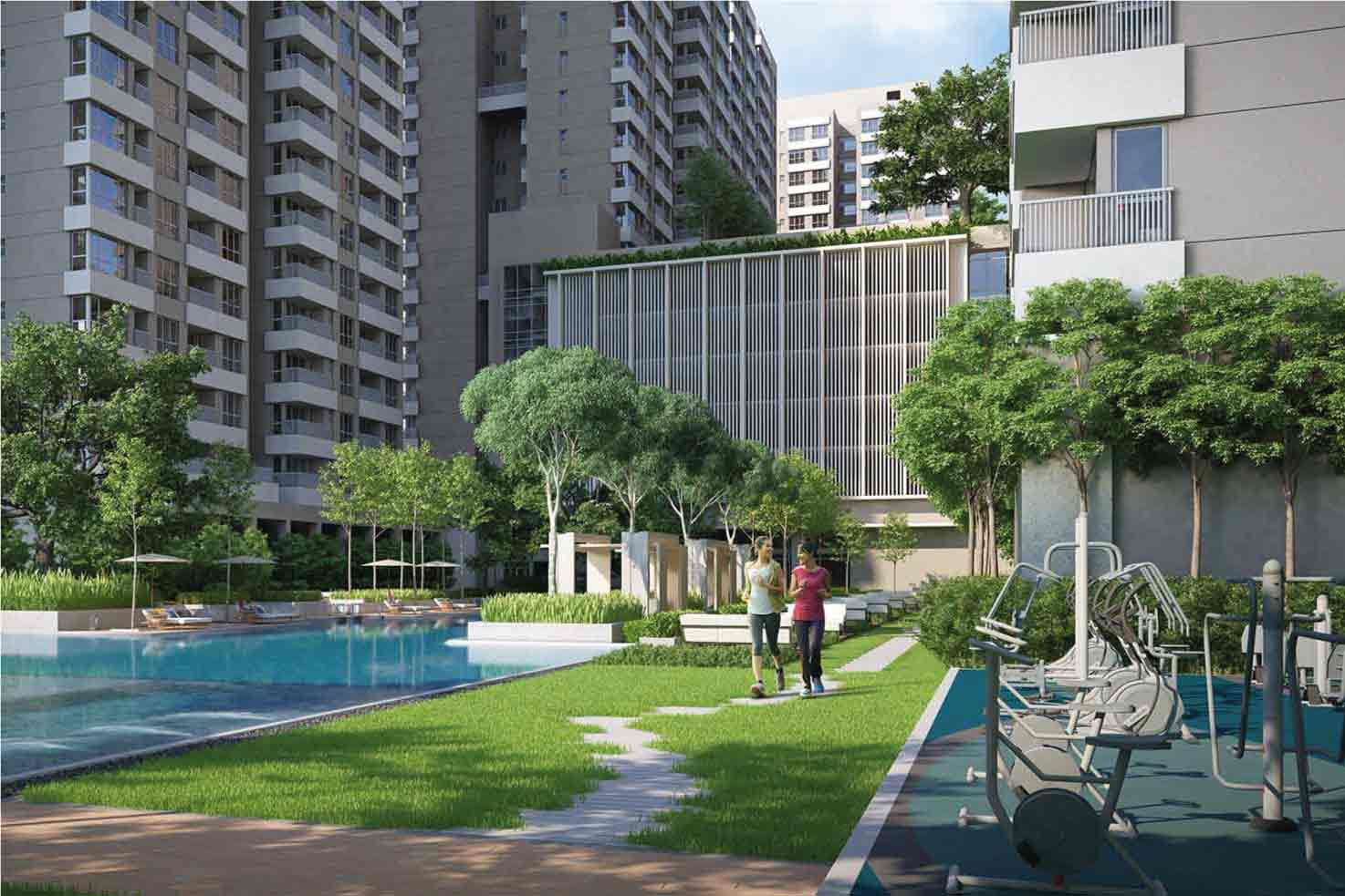 Residential Apartments in New Town
