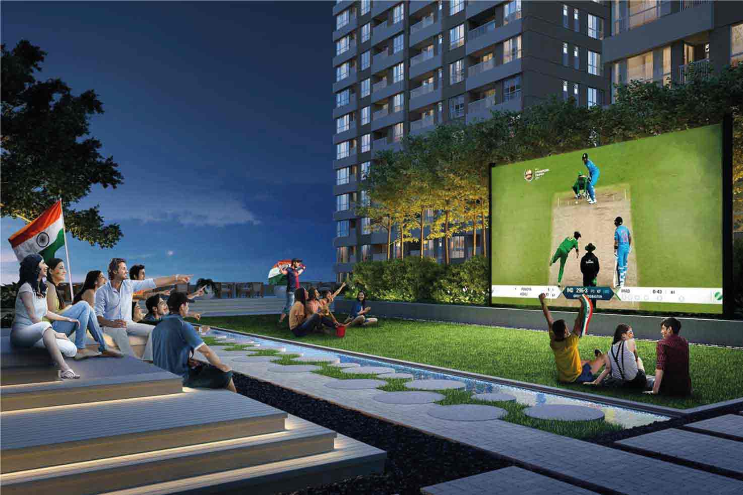 One10 Outdoor Movie Theatre